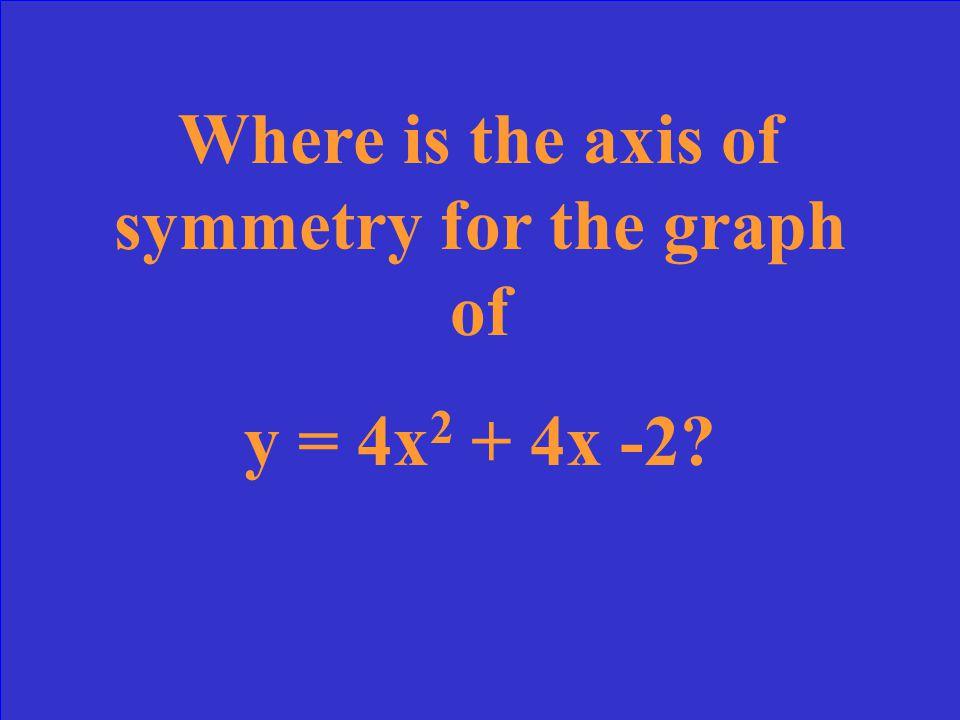X = 0