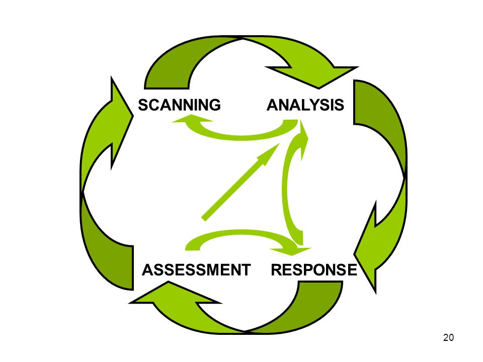 20 SCANNINGANALYSIS RESPONSEASSESSMENT