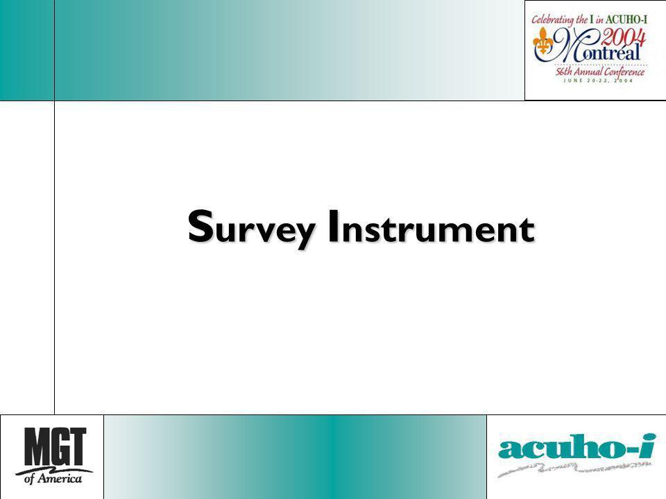 S urvey I nstrument