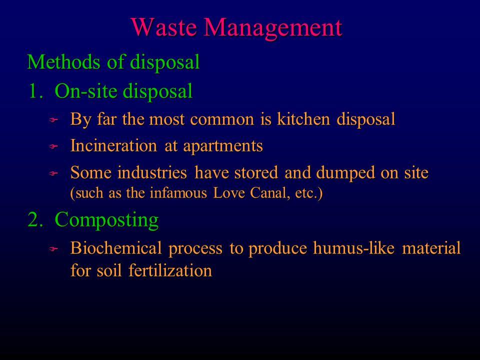 Waste Management 3.