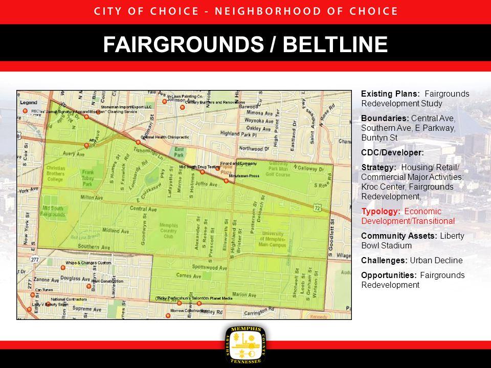 Existing Plans: Bicentennial Neighborhood Plan 1998 Boundaries: Lamar Ave, South Parkway, Burlington Northern-Santa Fe Railroad, CSX Railroad CDC/Developer: Glenview CDC Strategy: Housing Major Activities: Single Family Housing Typology: Stable Community Assets: Glenview Park Challenges: Urban Decline Opportunities: GLENVIEW