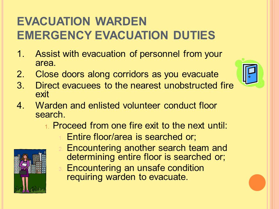 B ASICS A FTER A N E MERGENCY Wait for and follow instructions from Public Safety or a designee.