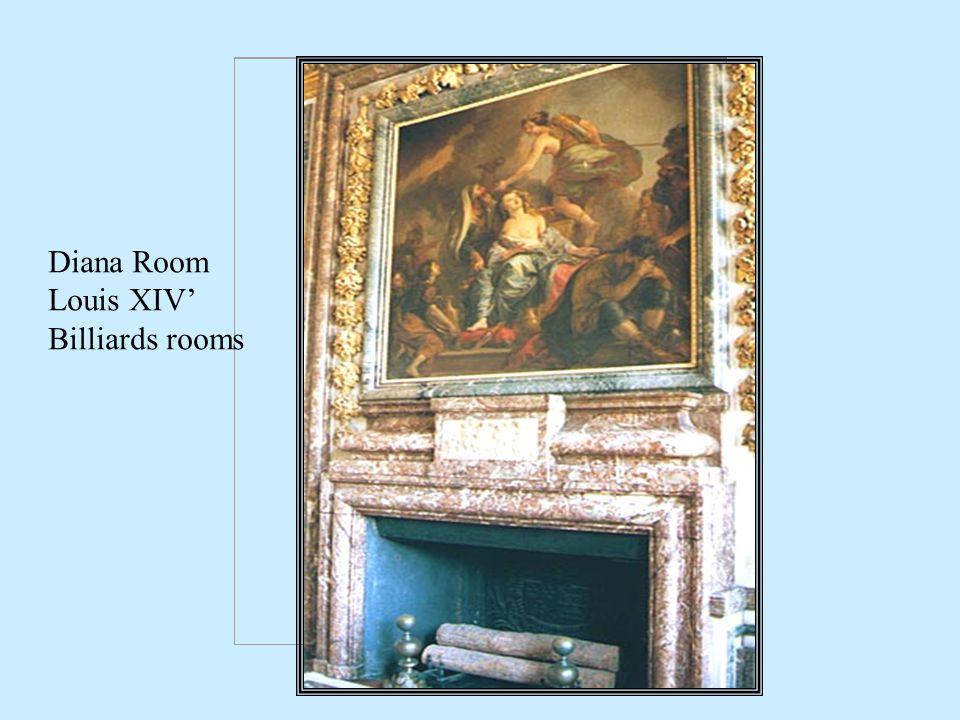 Diana Room Louis XIV Billiards rooms