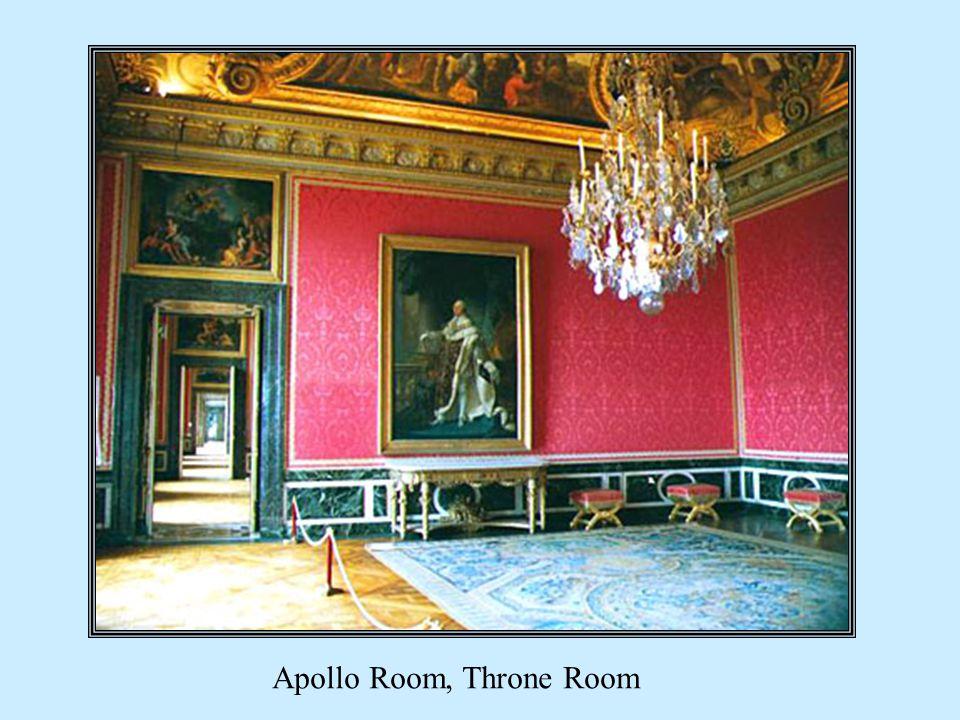 Apollo Room, Throne Room