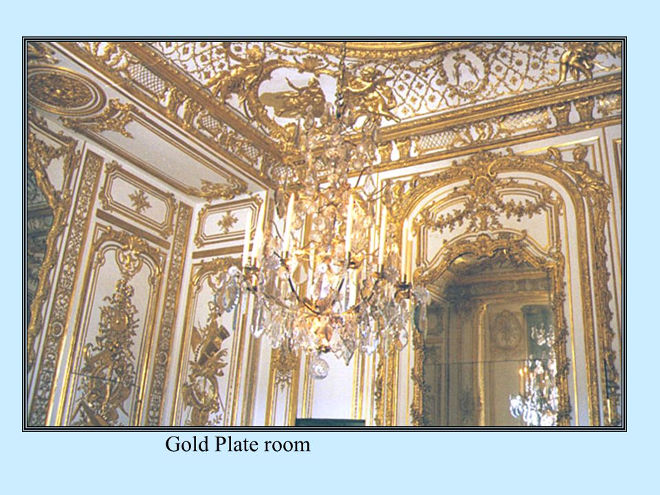 Gold Plate room