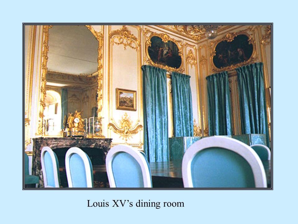 Louis XVs dining room