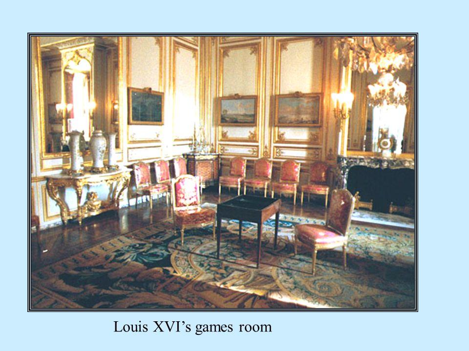 Louis XVIs games room
