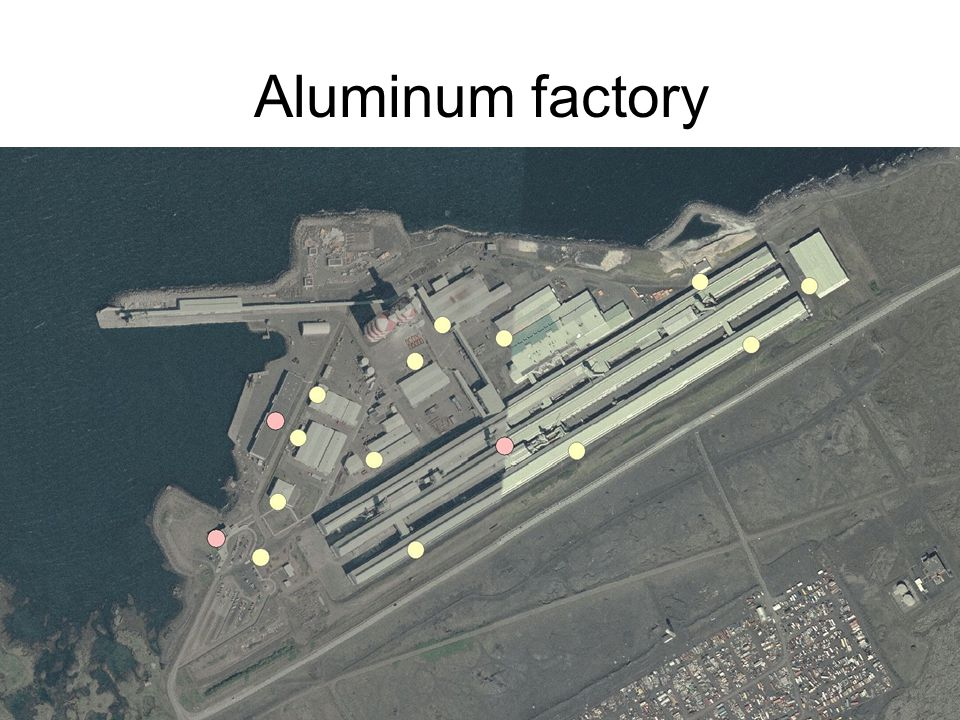 The Land Registry of Iceland -GeoInformation Department 14 Aluminum factory