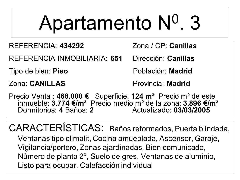 Apartamento N 0.