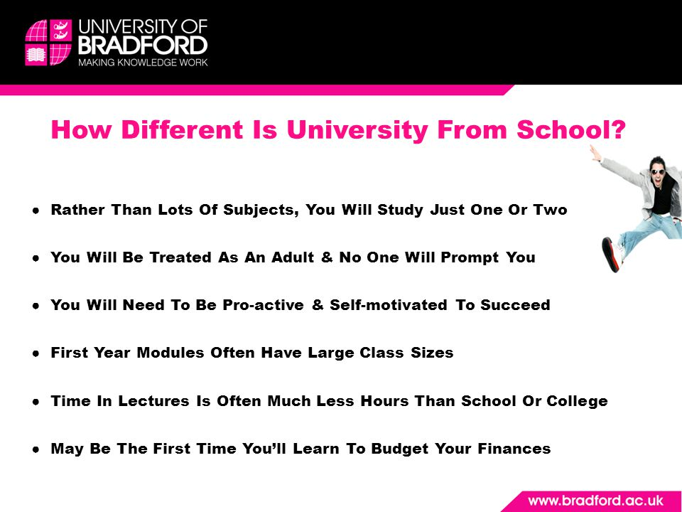 How Different Is University From School.