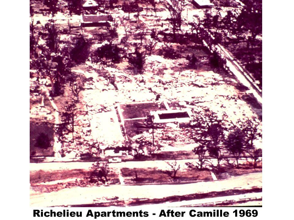 Richelieu Apartments - After Camille 1969