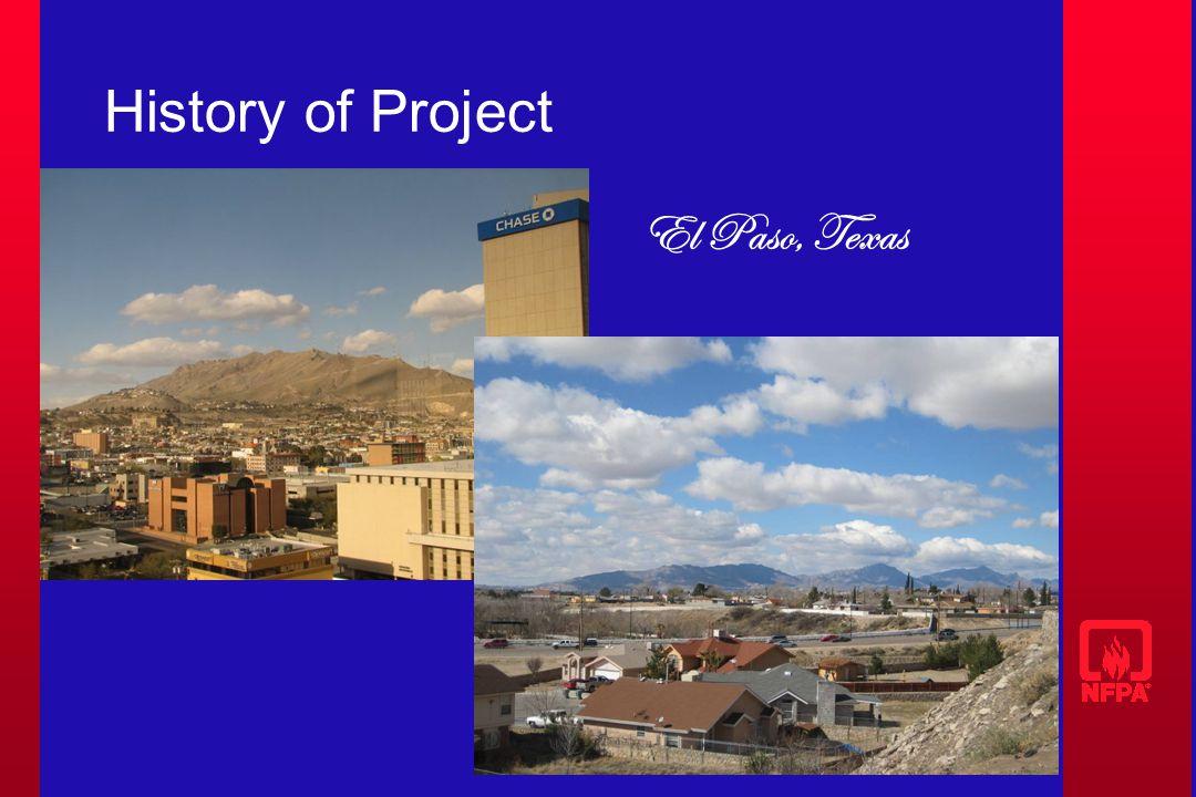 History of Project El Paso, Texas
