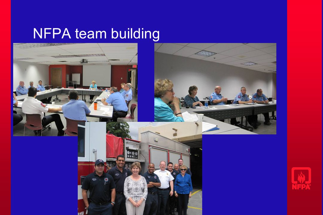 NFPA team building