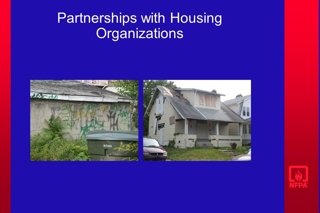 Partnerships with Housing Organizations