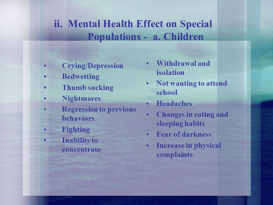 D. Public Health Impact i.
