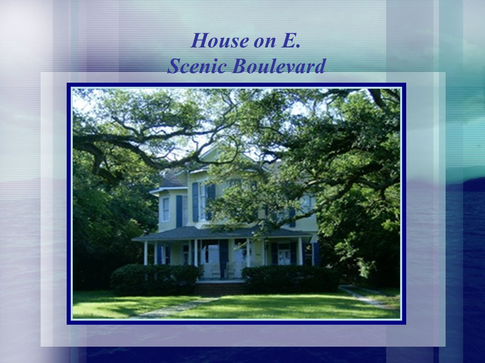 House on E. Scenic Boulevard