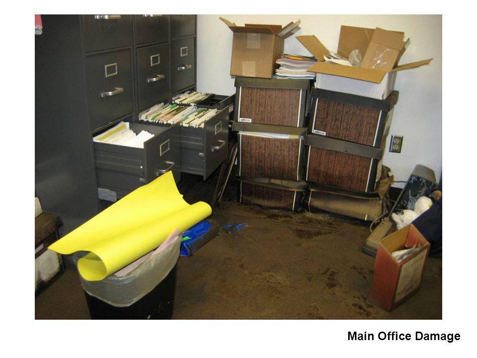Main Office Damage