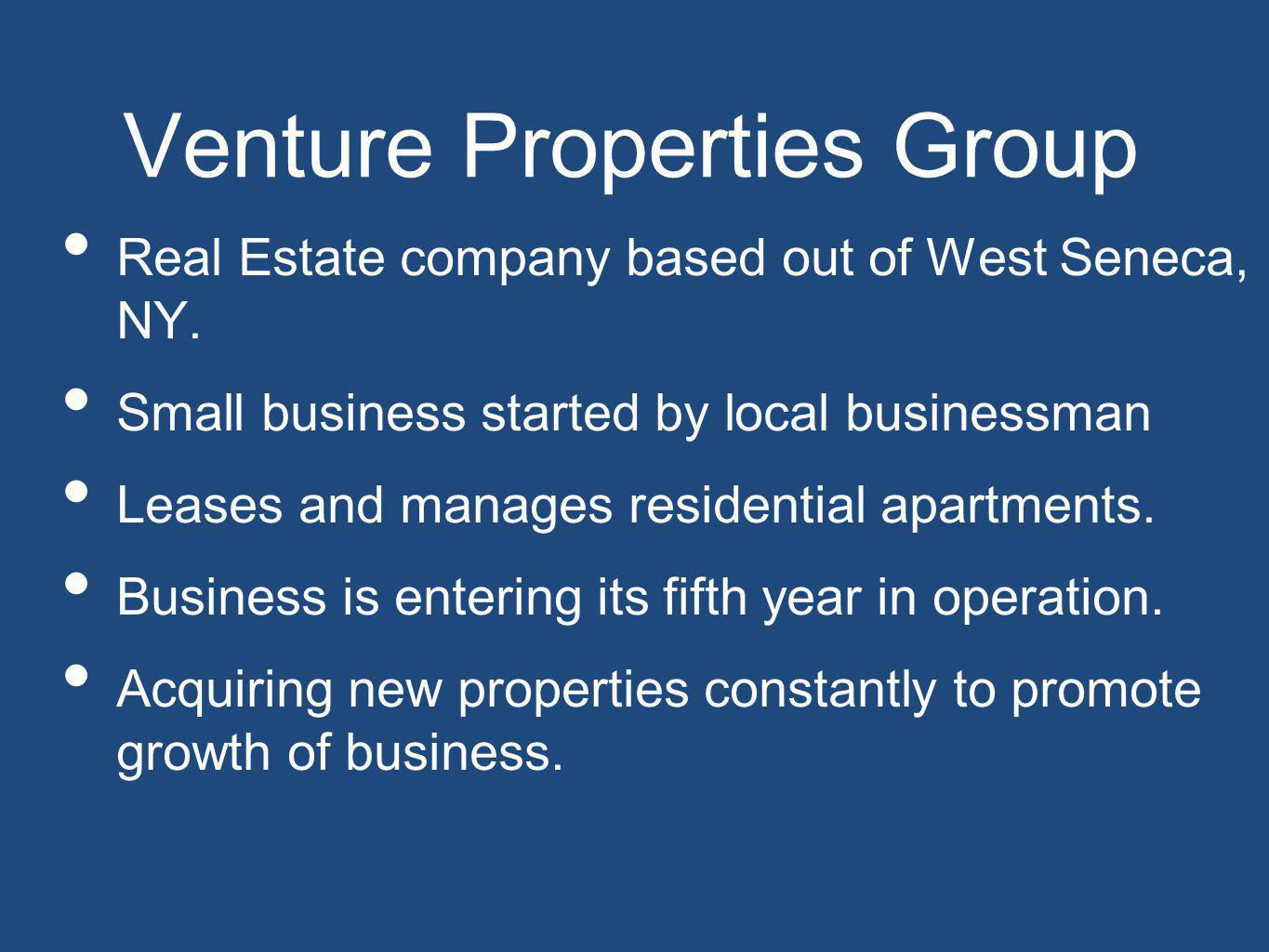 Business Expert Handle all tenant relations – - filling vacancies -dealing with current ones -collecting rent -tracking expenses