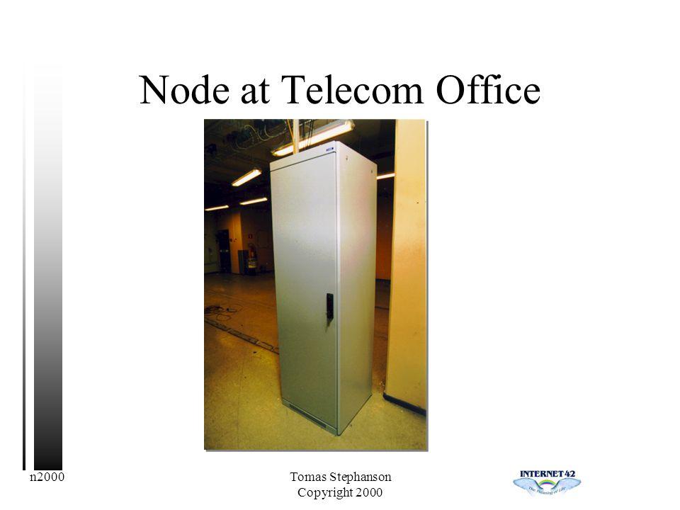 n2000Tomas Stephanson Copyright 2000 Node at Telecom Office