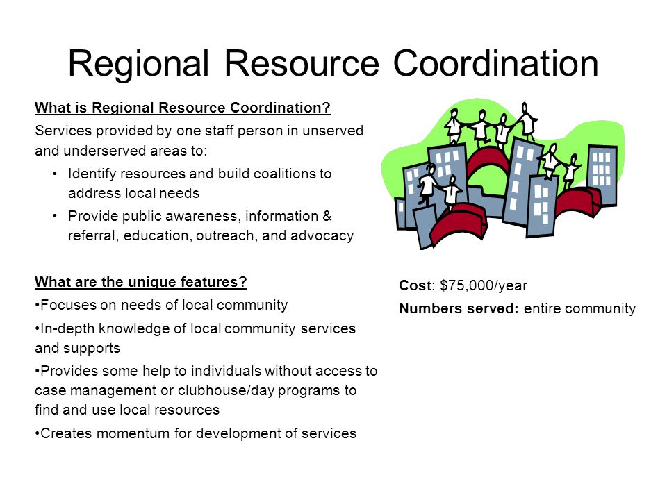 Regional Resource Coordination What is Regional Resource Coordination.