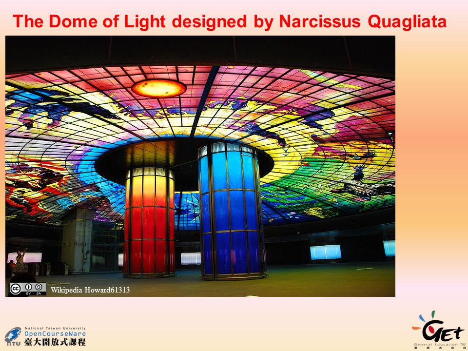 The Dome of Light designed by Narcissus Quagliata Wikipedia Howard61313
