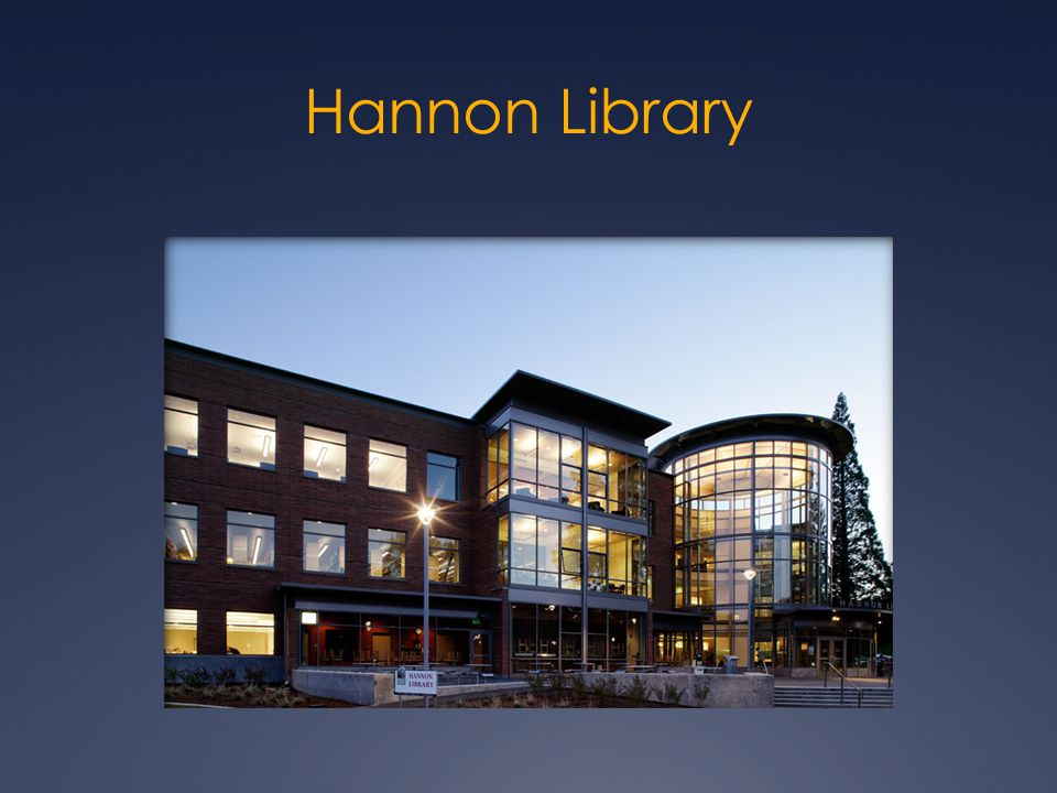 Hannon Library