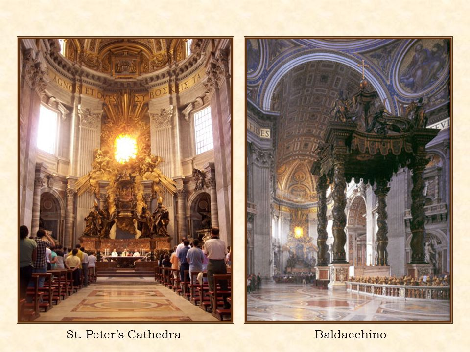 BaldacchinoSt. Peters Cathedra