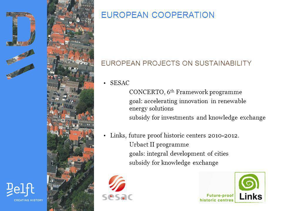 URBACT/LINKS Integral development Urban scale Technical aspects Social aspects Economic aspects