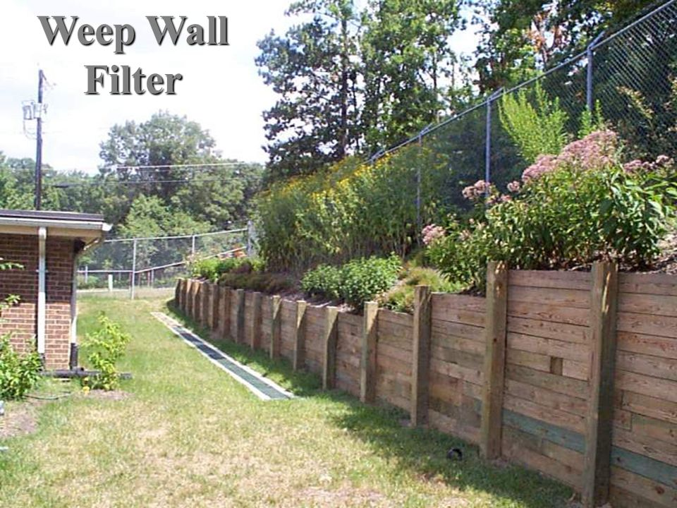Weep Wall Filter