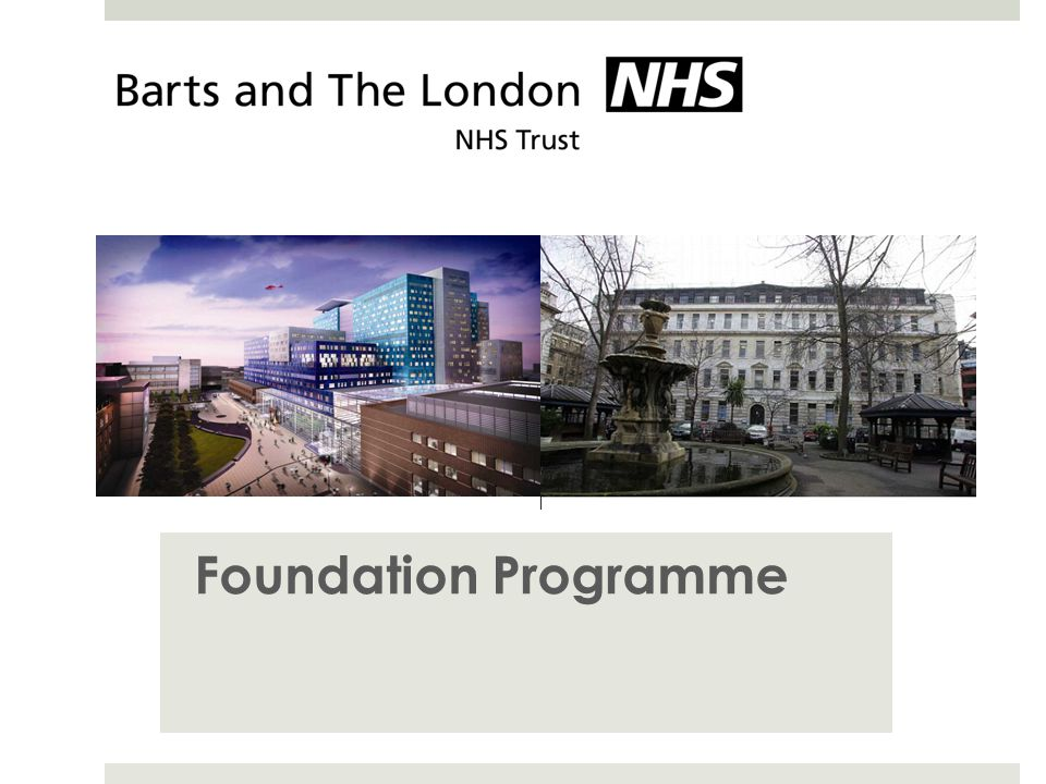 Foundation Programme