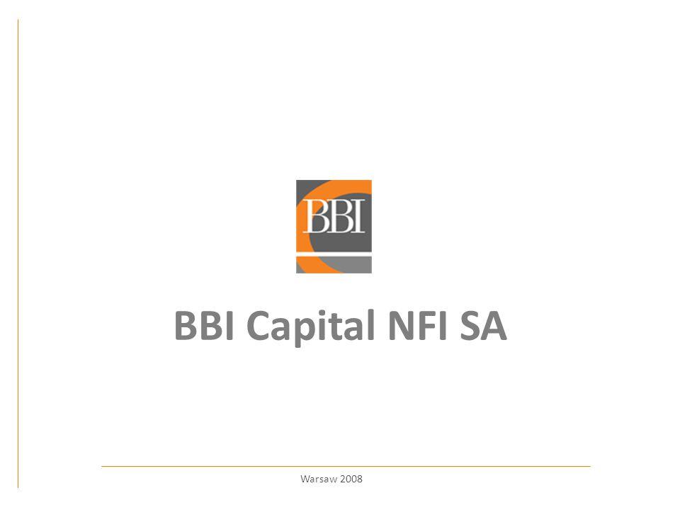 BBI Capital NFI SA Warsaw 2008