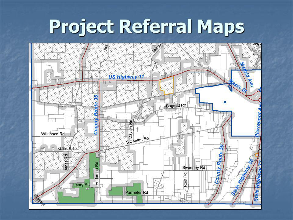 Project Referral Maps