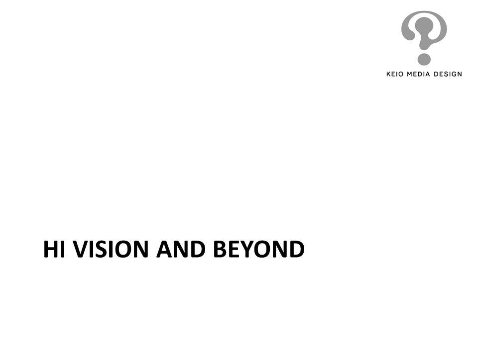 HI VISION AND BEYOND