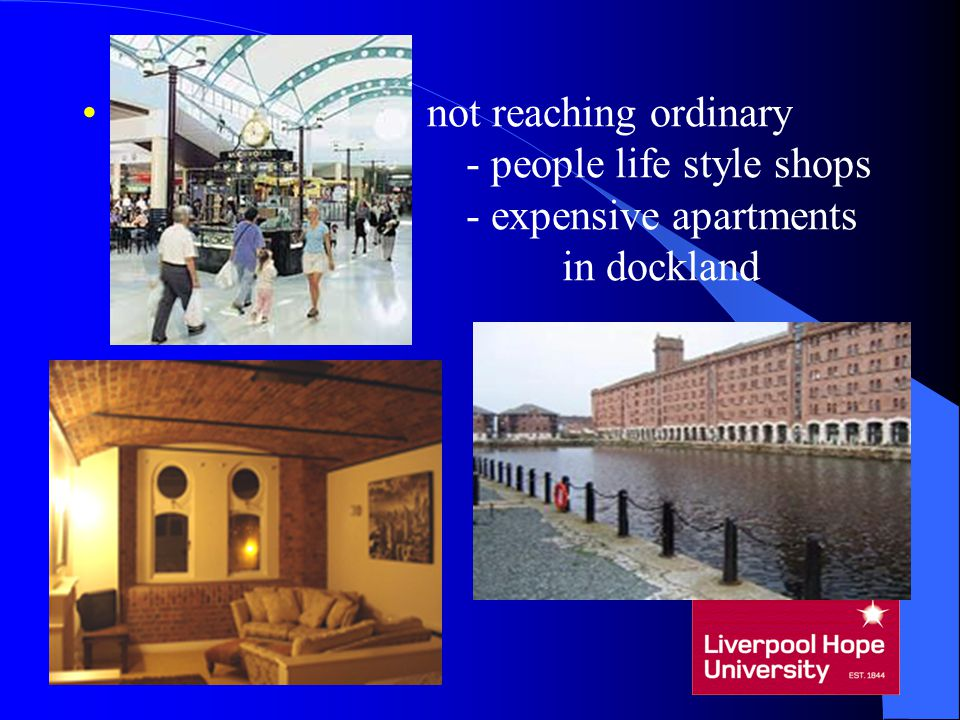not reaching ordinary - people life style shops - expensive apartments in dockland