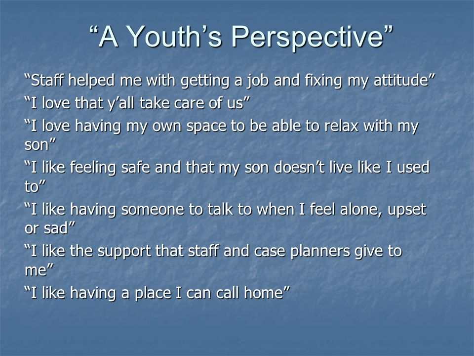 A Youths Perspective – how has Homespace been helpful to you as you prepare to live on your own?