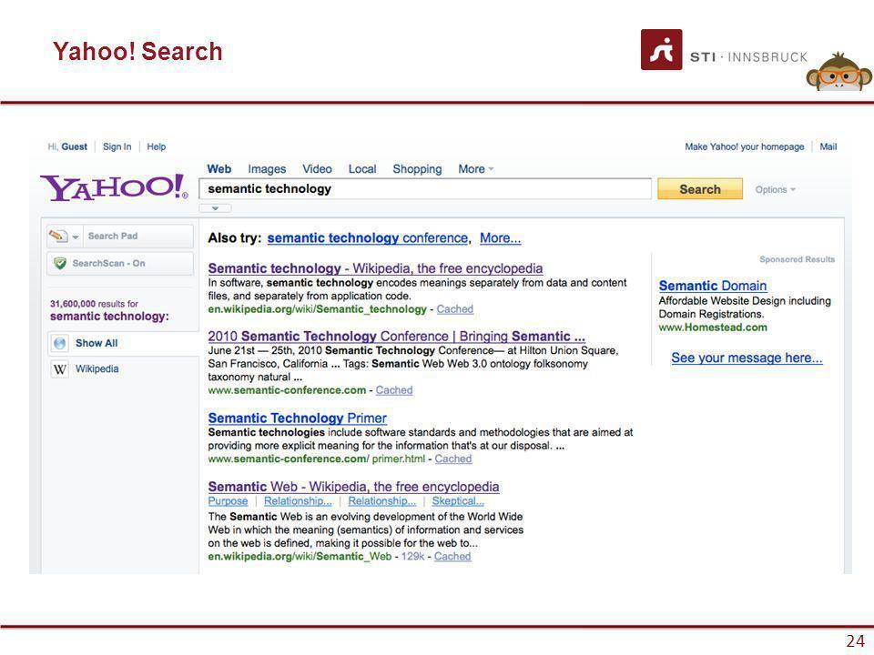 www.sti-innsbruck.at 24 Yahoo! Search 24