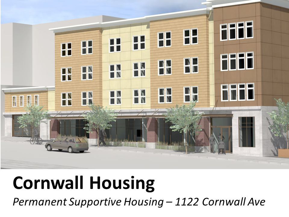 Cornwall Housing Permanent Supportive Housing – 1122 Cornwall Ave