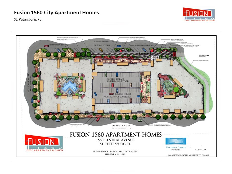 Fusion 1560 City Apartment Homes St. Petersburg, FL