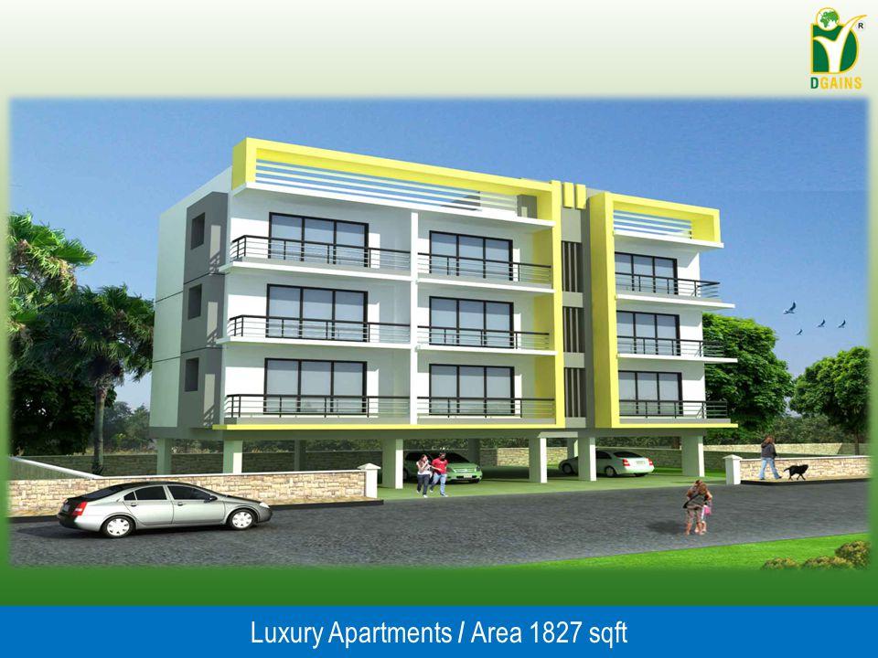 Luxury Apartments / Area 1827 sqft