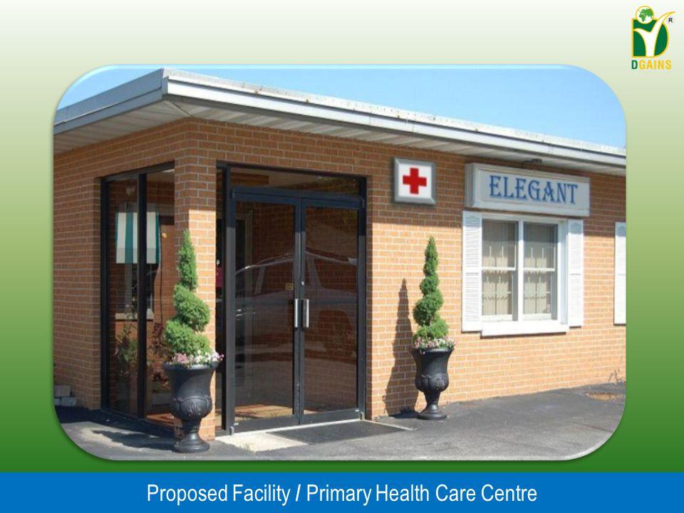 Proposed Facility / Primary Health Care Centre