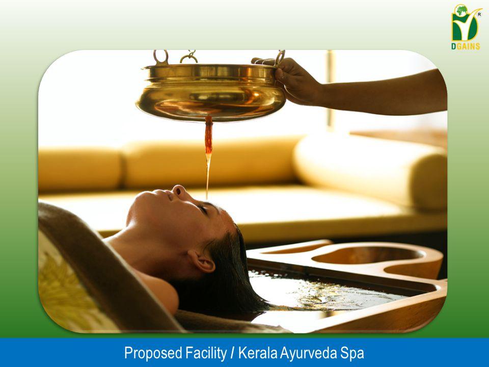 Proposed Facility / Kerala Ayurveda Spa