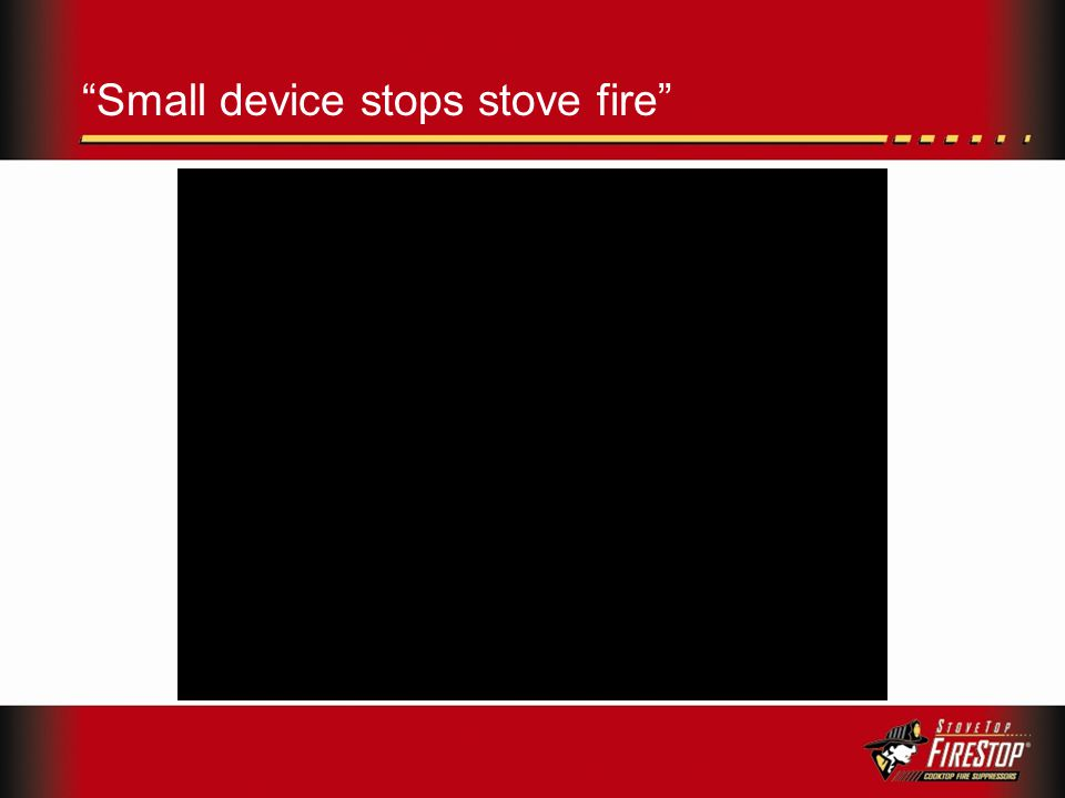Small device stops stove fire
