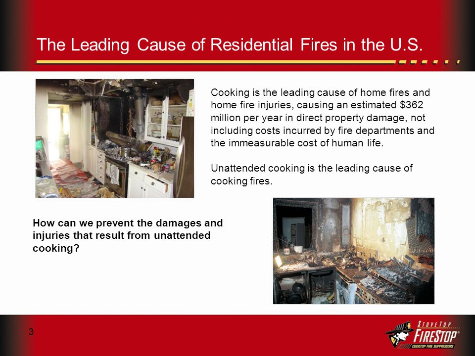 3 The Leading Cause of Residential Fires in the U.S.