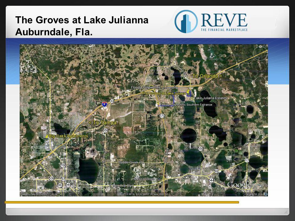 The Groves at Lake Julianna Auburndale, Fla.