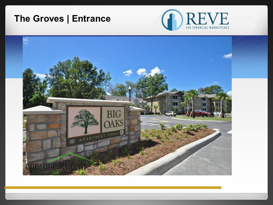 The Groves | Entrance