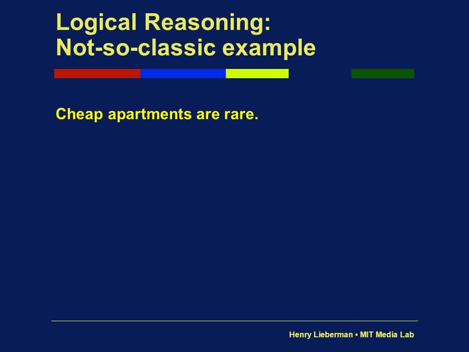 Henry Lieberman MIT Media Lab Effect of the parser