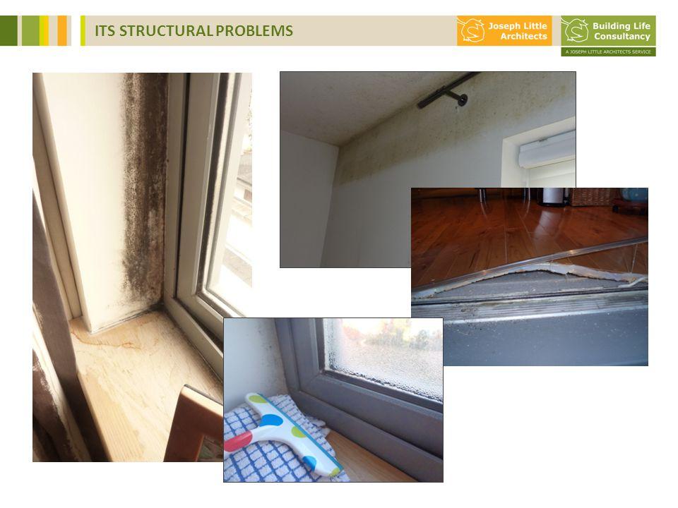 moist air thermal bridge moist grout in pre-cast wall
