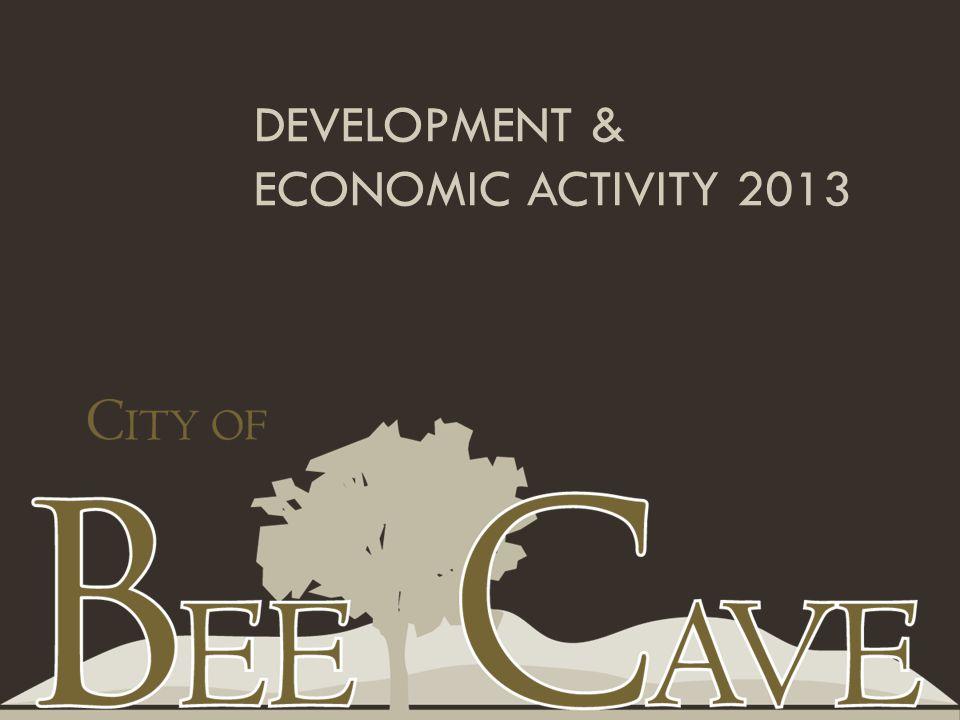 DEVELOPMENT & ECONOMIC ACTIVITY 2013