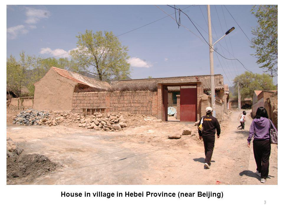 3 House in village in Hebei Province (near Beijing)