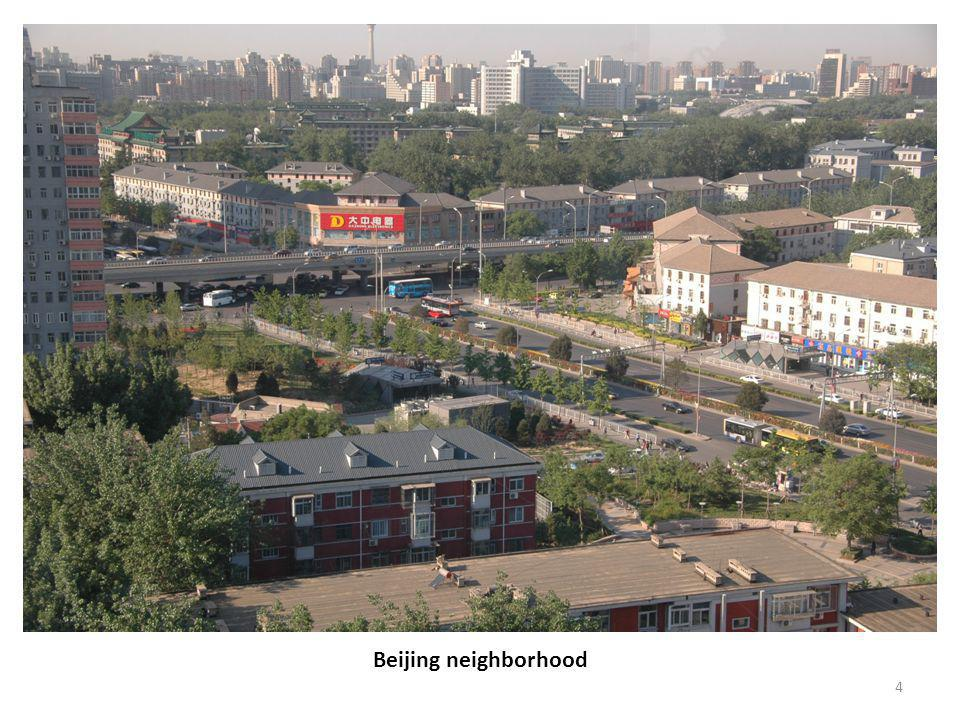 4 Beijing neighborhood